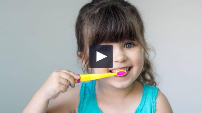 Cuida los dientes de tus hijos