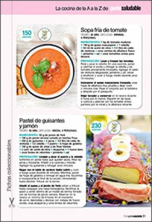 Sopa fría de tomate