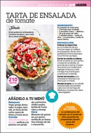 Tarta de ensalada de tomate