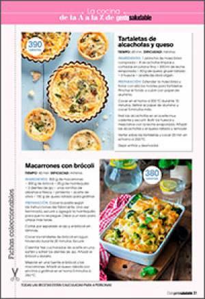 Tartaletas de alcachofas y queso