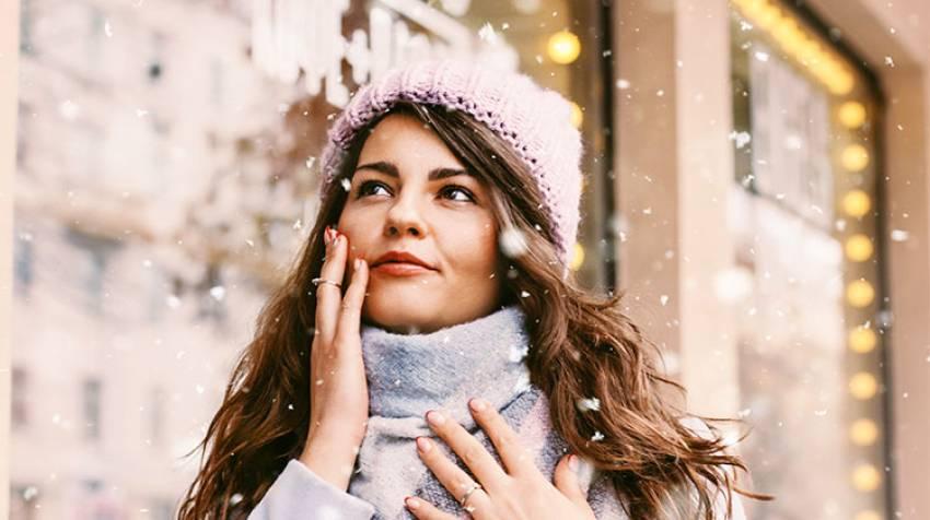 Protege tu piel del frío¡Y tan fresca!