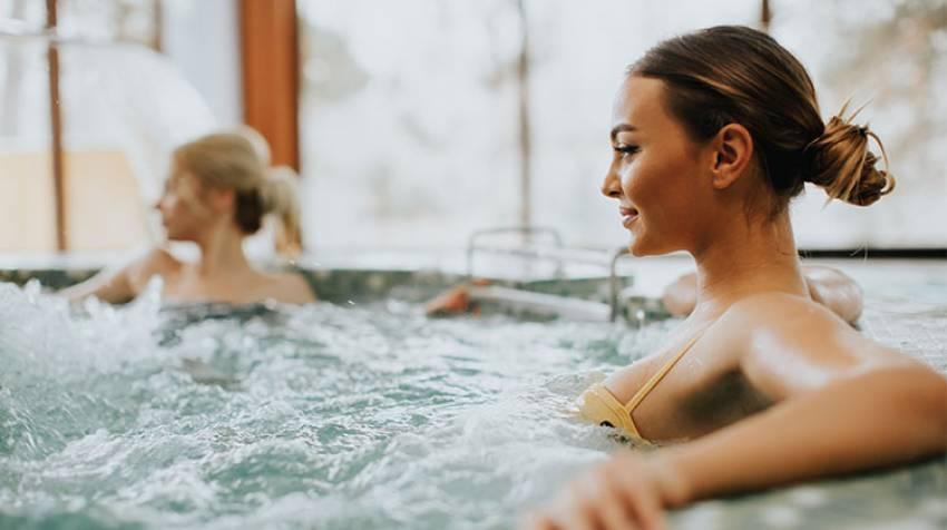 Aguas termales:Un baño debeneficios