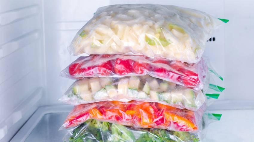 Alimentos congelados: Cómo conservarlos bien
