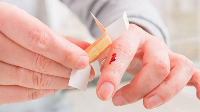 Primeros auxilios: Cómo curar cortes y heridas