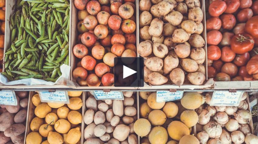 Frutas, verduras y pesticidas