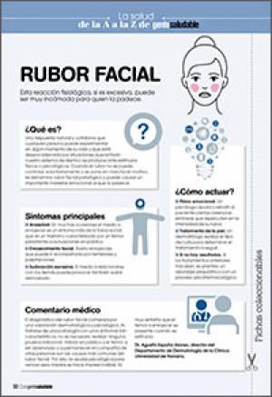 Rubor facial
